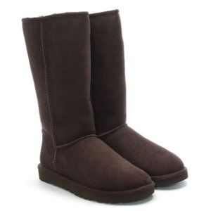 Size 6 UGG Classic Tall Boot in Chocolate